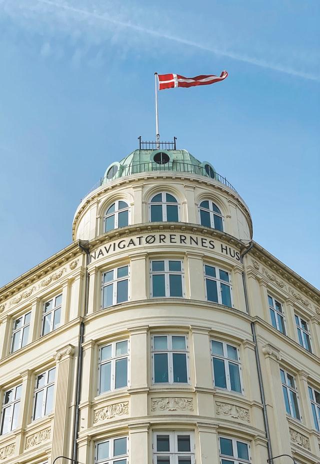 Placing contractors in Denmark - Danish flag